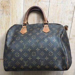 LV speedy 30 monogram handcarry bag